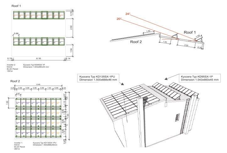 dds cad moduly modul fotowoltaiczny schemat