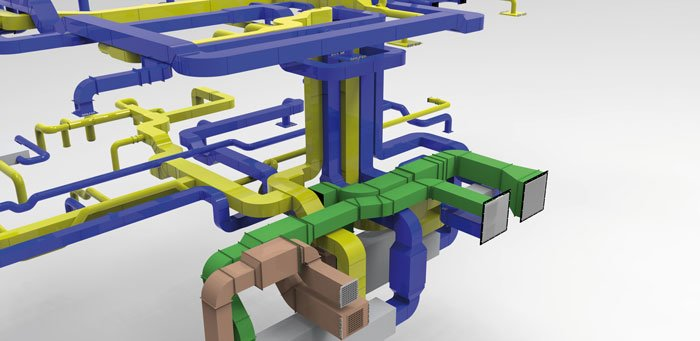 dds cad moduly modul klimatyzacyjno wentylacyjny wizualizacja